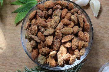 Kief-Roasted Almonds