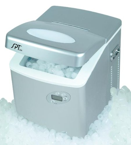 Sunpentown IM-101 Portable Ice Maker with LCD