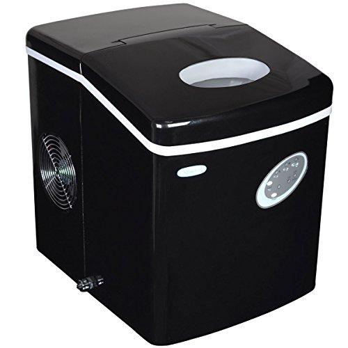 #2 - NewAir AI-100BK 28-Pound Portable Ice Maker, Black