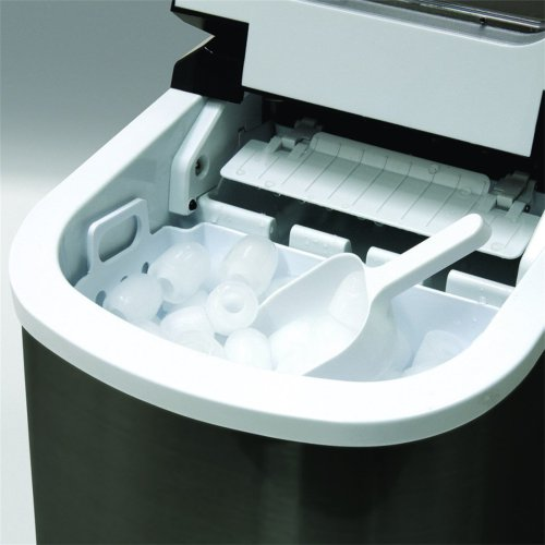 this portable ice maker  makes ice in under 13 Minutes and Produces 26 lbs. of ice every 24 hours