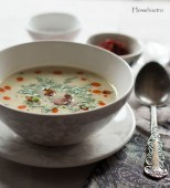 Csicseris édesköménygumó leves