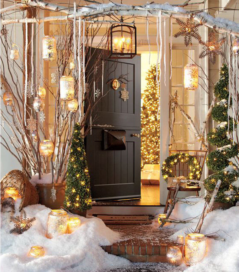 50 Best Outdoor Christmas Decorations for 2019 on Patio Decorating Ideas With Lights  id=14682