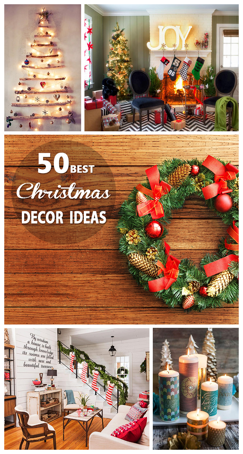 50 Best Christmas Decoration Ideas for 2018 Best Christmas Decor Ideas