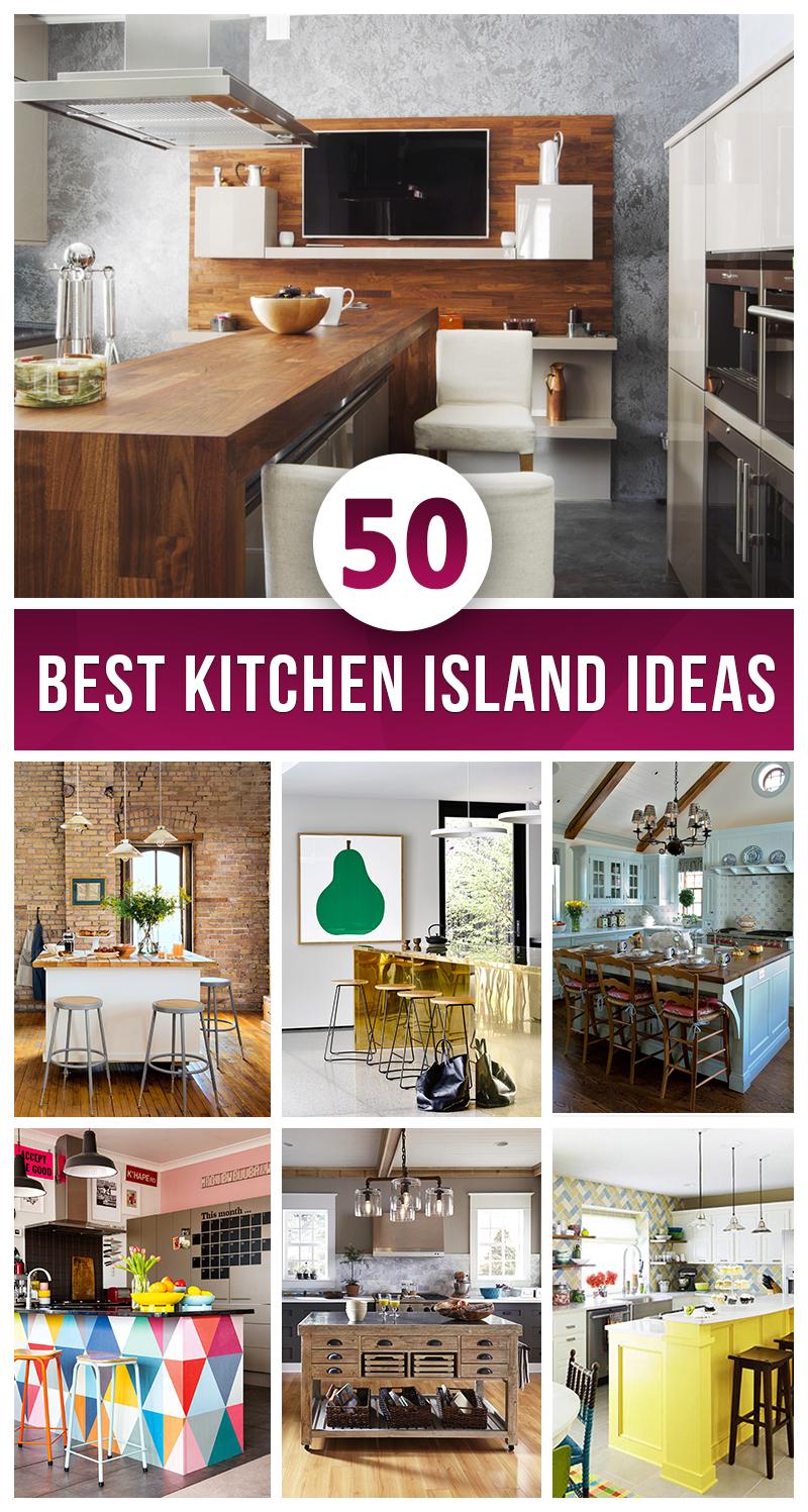 50 Best Kitchen Island Ideas For 2021