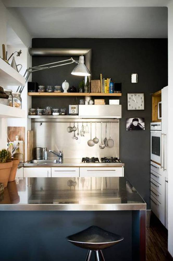 50 Best Small Kitchen Ideas and Designs for 2019 on Best Small Kitchens  id=59898