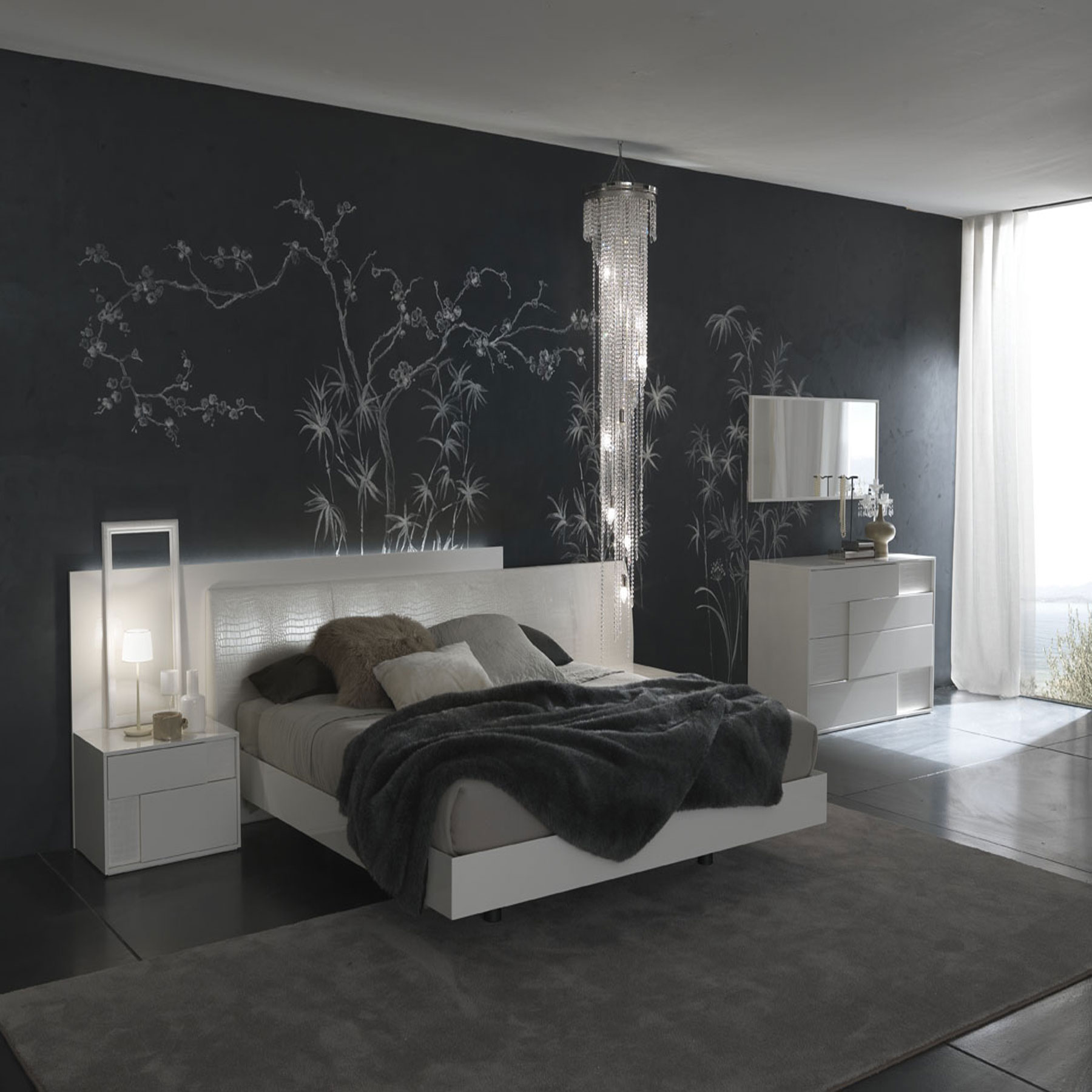 50 Best Bedrooms With White Furniture for 2020 on Bedroom Wall Decor  id=89095