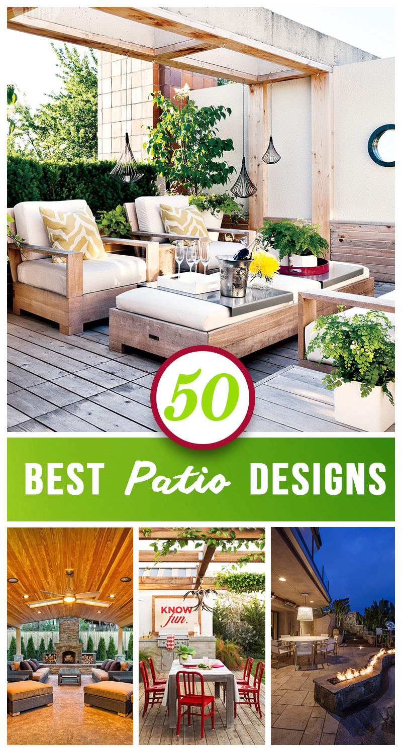 50 Best Patio Ideas For Design Inspiration for 2020 on Patio Top Ideas id=18310