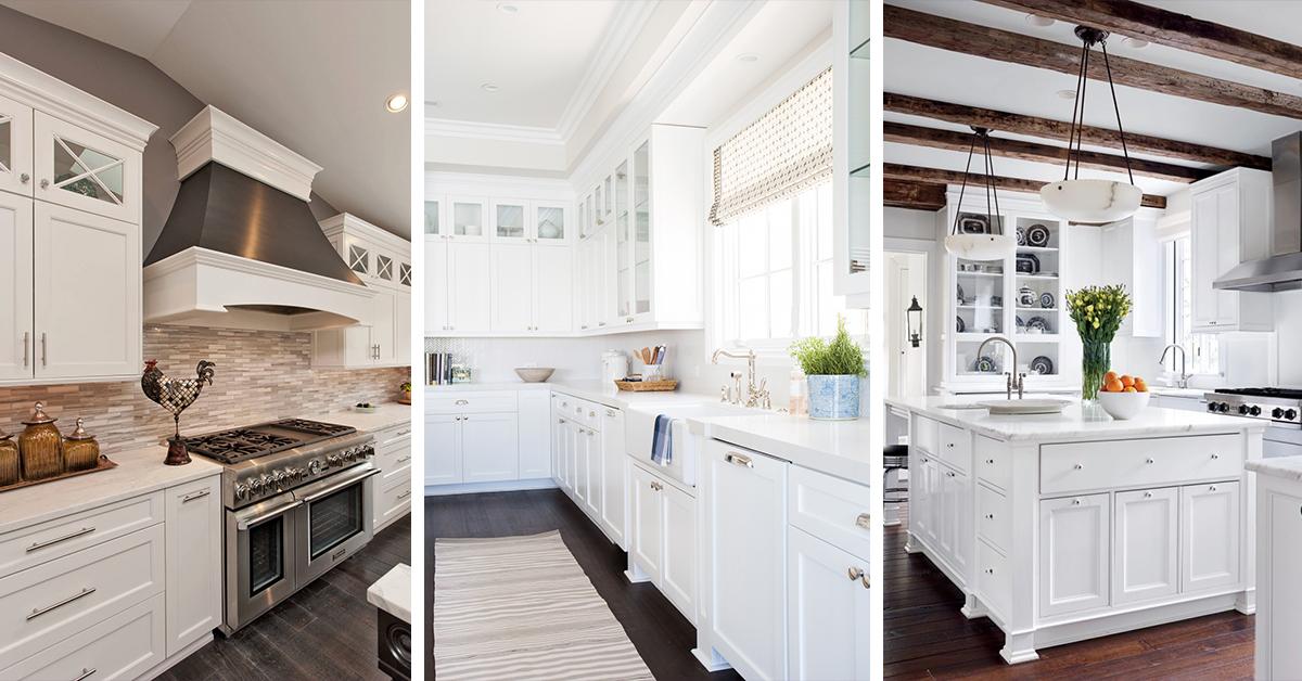 46 Best White Kitchen Cabinet Ideas For 2019