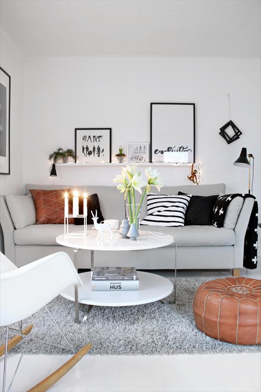 50 Best Small Living Room Design Ideas for 2016 on Decorating Small Living Room  id=91185