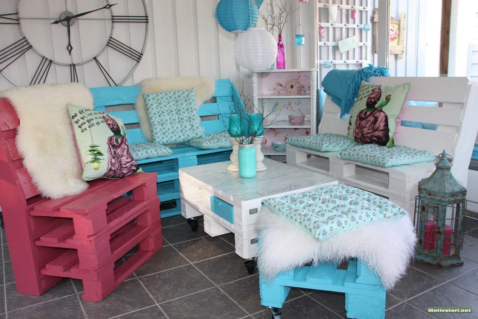 50 Best Creative Pallet Furniture Design Ideas for 2020 on Pallet Room  id=22994
