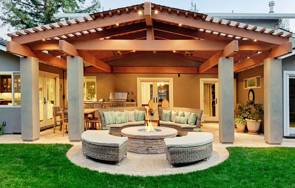 50 Best Outdoor Fire Pit Design Ideas for 2020 on Fireplace In Yard id=75269