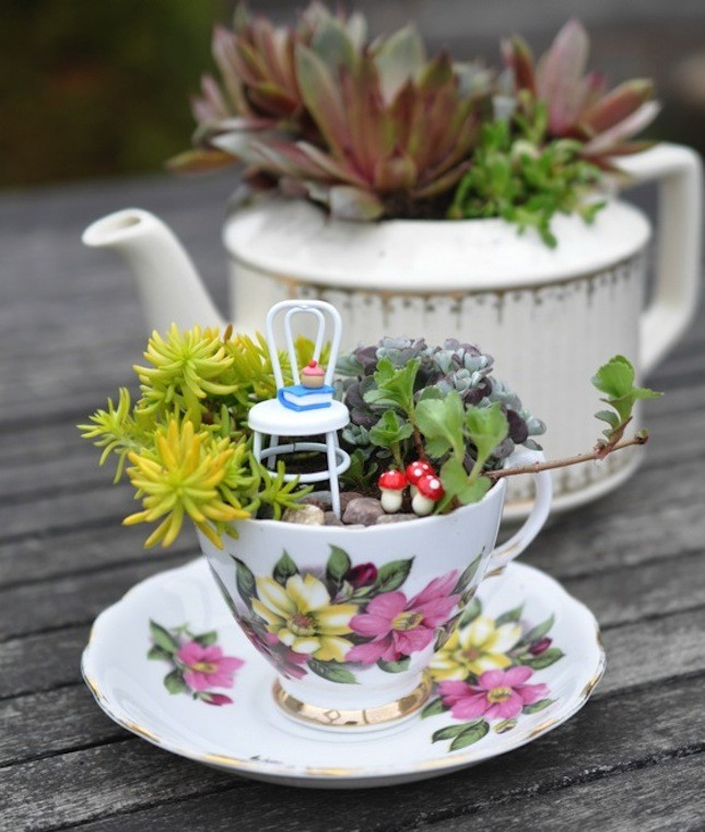 Fairy Garden Ideas: Have A DIY Fairy Garden Tea Party