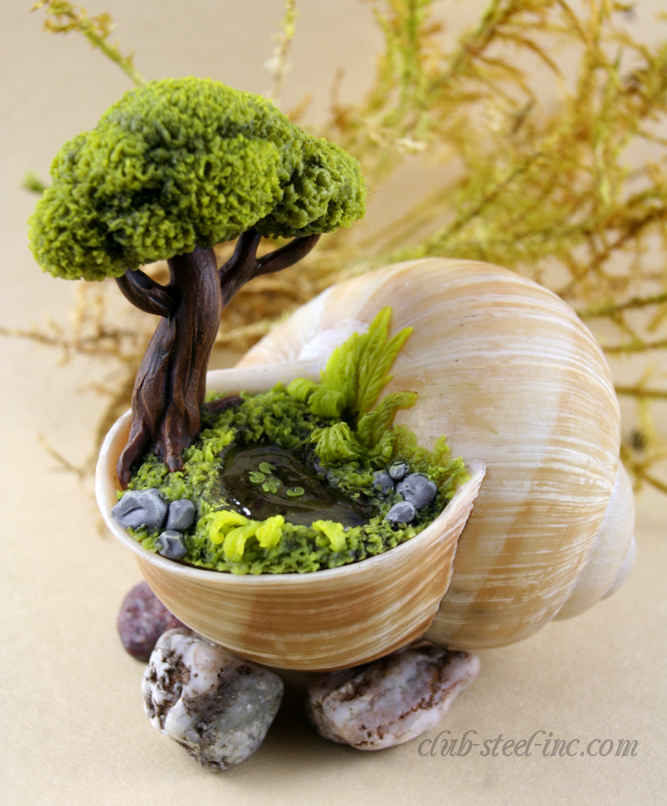 Fairy Garden Ideas: Cottage by the sea