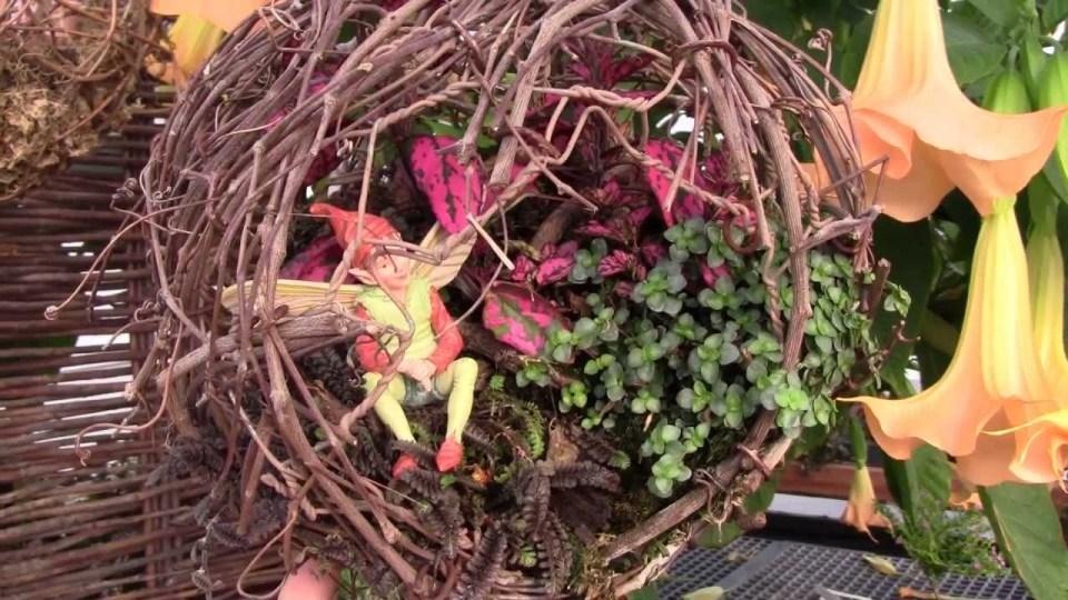 Fairy Garden Ideas: Orchids at noon fairy garden ideas