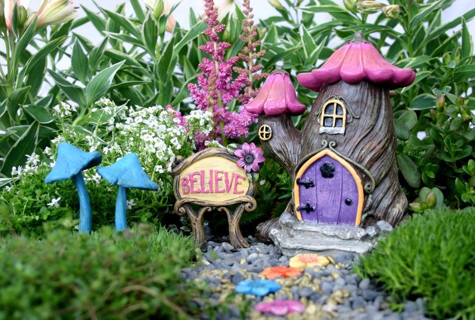 fairy garden ideas: Only believe fairy garden ideas