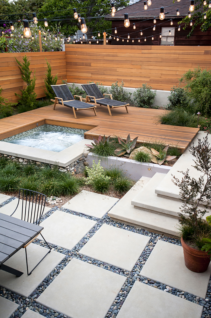 50 Best Backyard Landscaping Ideas and Designs in 2020 on Back Patio Landscape Ideas id=51542