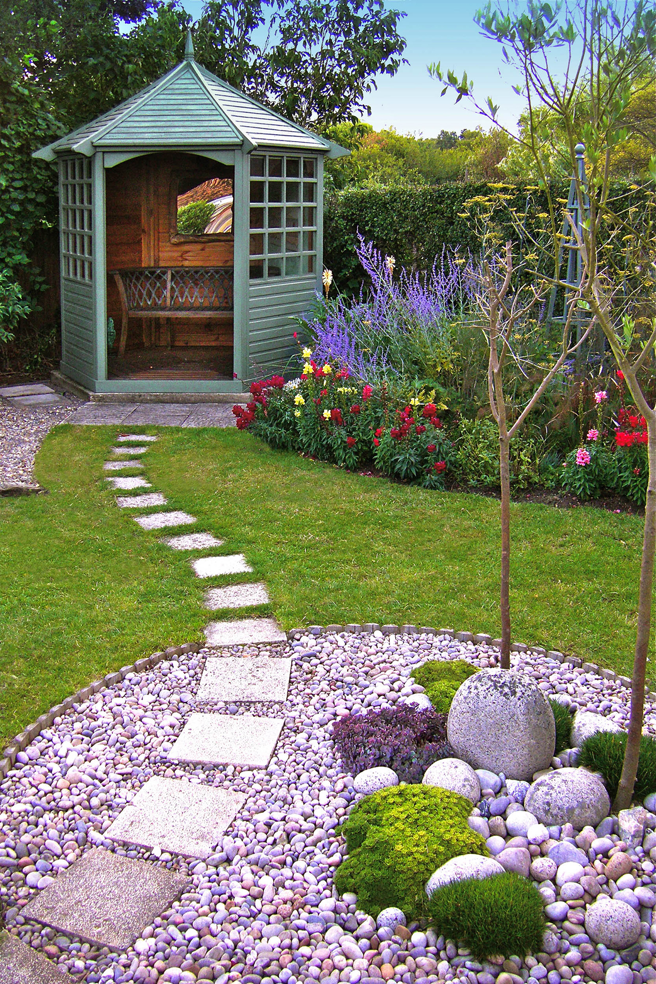 50 Best Backyard Landscaping Ideas and Designs in 2020 on Back Patio Landscape Ideas id=42765