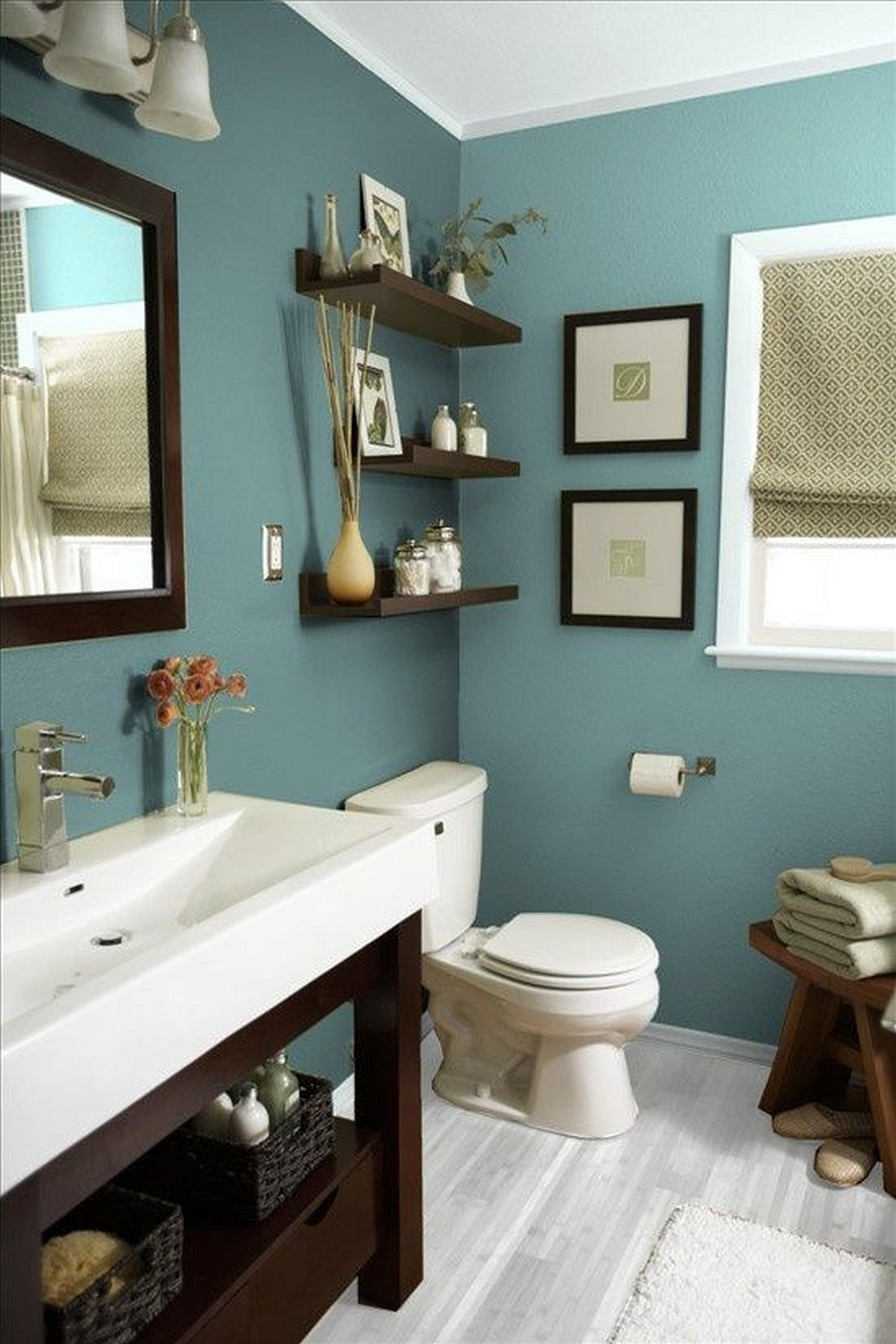 50+ Best Bathroom Decor Ideas and Designs that are Trendy ... on Restroom Ideas  id=25525