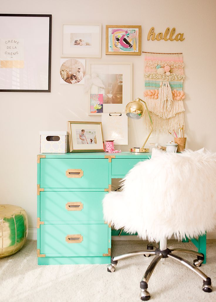50 Stunning Ideas for a Teen Girl's Bedroom for 2020 on Beautiful:9Ekmjwucuyu= Girls Room Decoration  id=98477