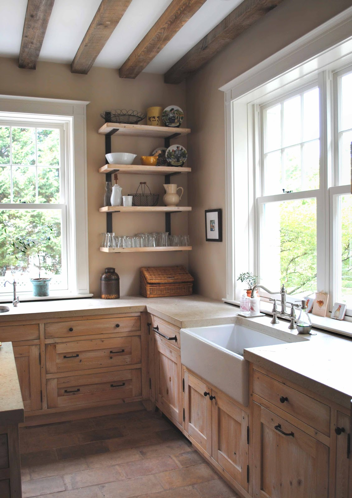 23 Best Rustic Country Kitchen Design Ideas and ... on Farmhouse Rustic Kitchen Ideas  id=33443