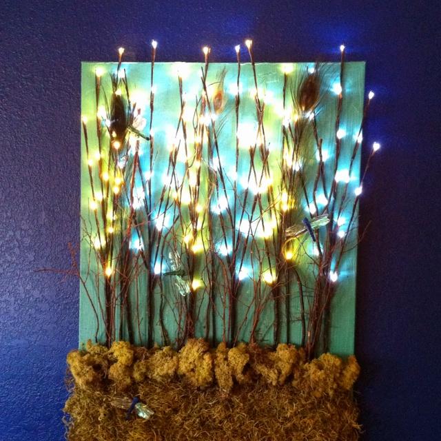 Flickering Light Canvas