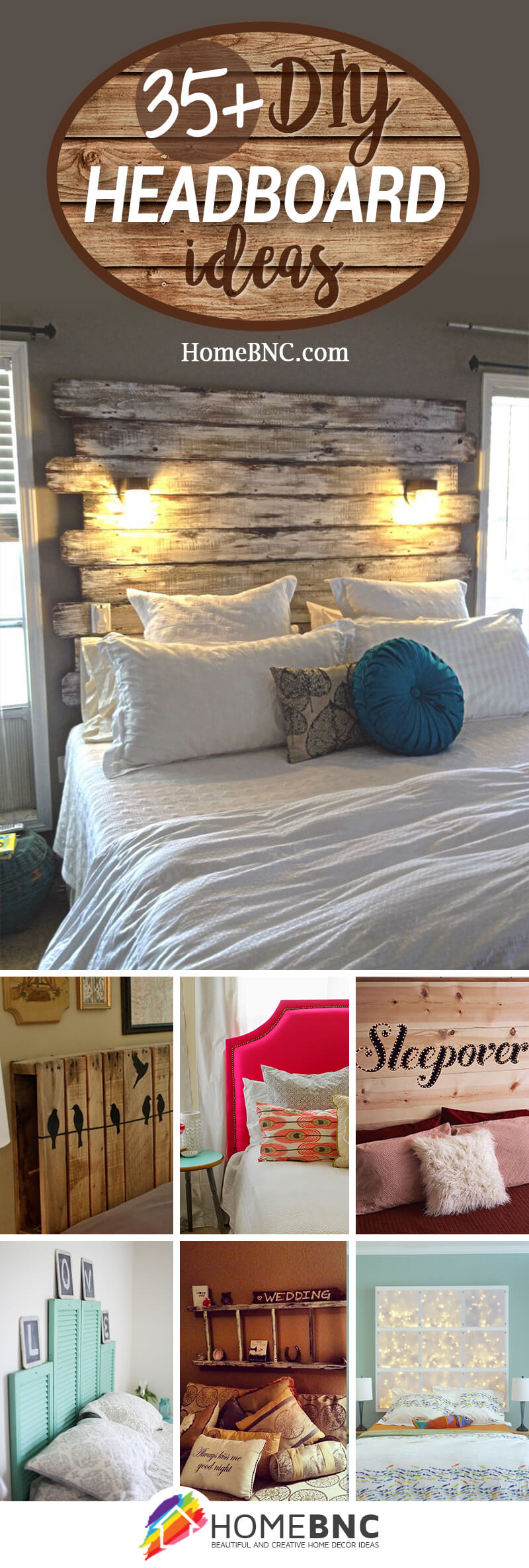 The 47 Best DIY Headboard Ideas for 2018 DIY Headboard Ideas