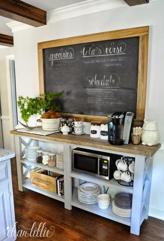 best coffee station ideas With Extra Doodle
