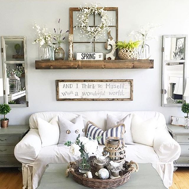 27 Best Rustic Wall Decor Ideas and Designs for 2018 Rustic Wall Decor Idea Featuring Reclaimed Window Frames