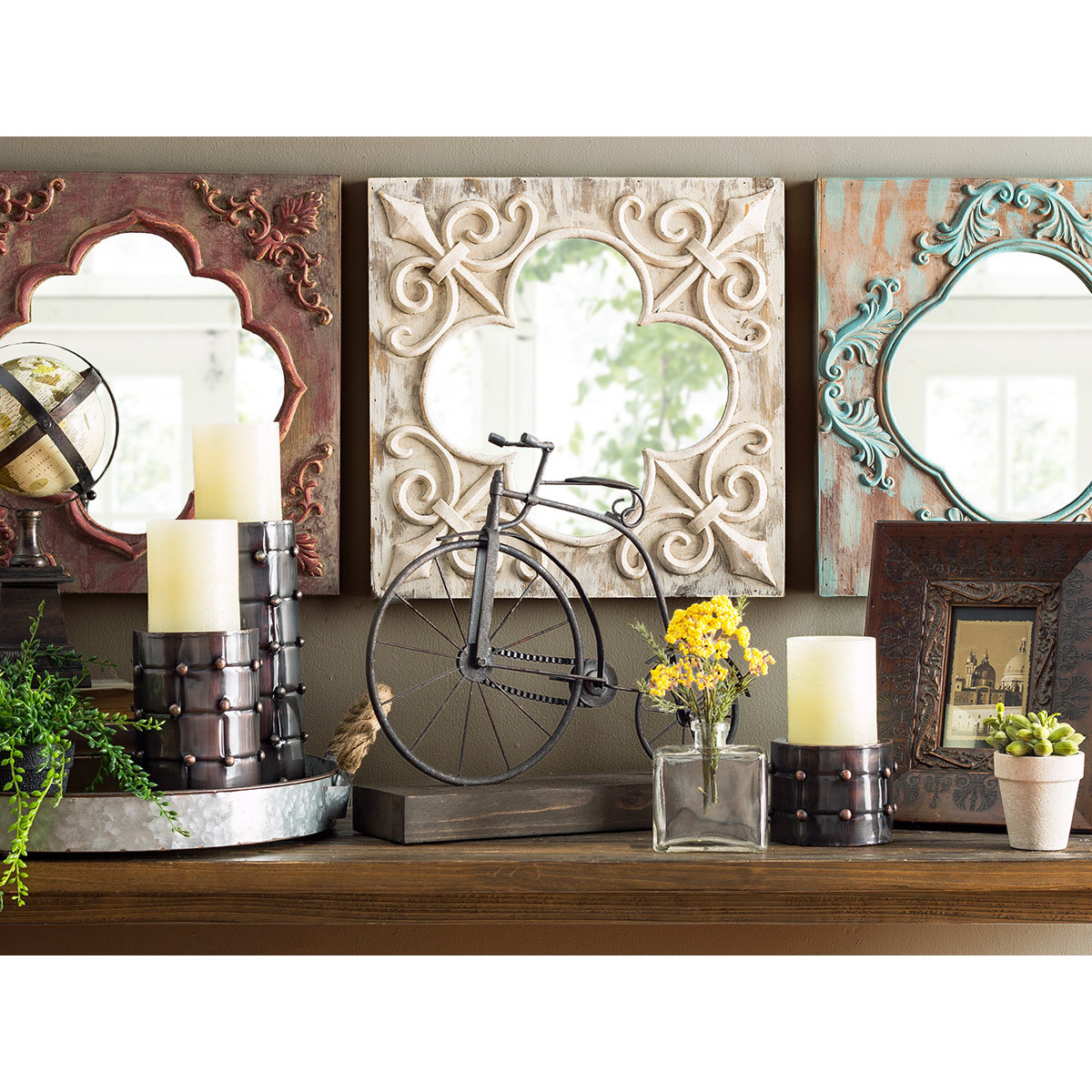27 Best Rustic Wall Decor Ideas and Designs for 2016 on Wall Decoration  id=90980