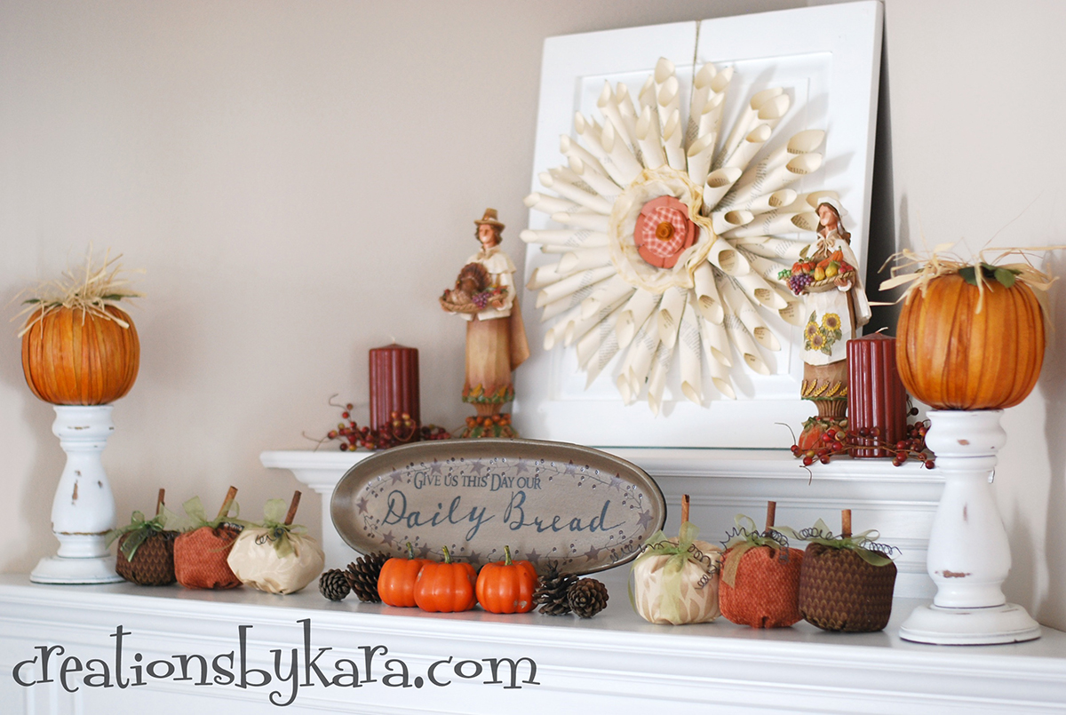 24 Best Fall Mantel Decorating Ideas And Designs For