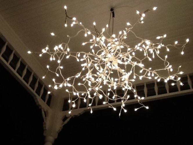 Lovely Christmas Light Decorations For Bedroom