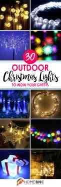 30 Best Outside Christmas Light Ideas For 2020