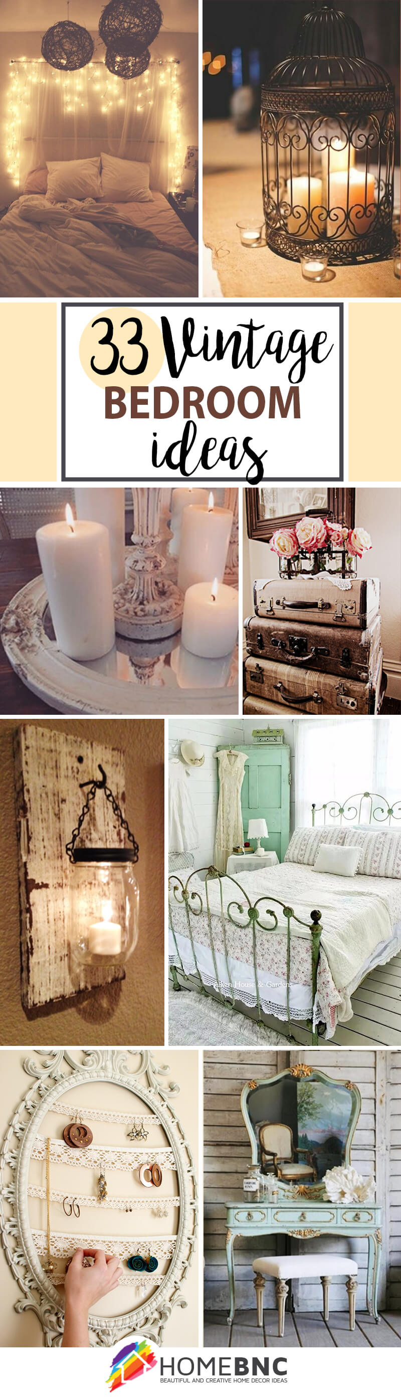 33 Best Vintage Bedroom Decor Ideas And Designs For 2020