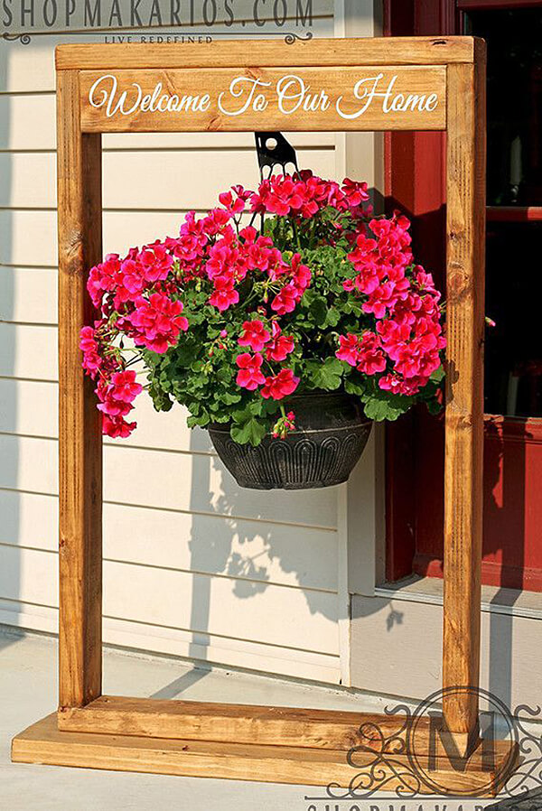 32 Best Spring Porch Decor Ideas and Designs for 2020 on Hanging Plant Stand Ideas  id=56188