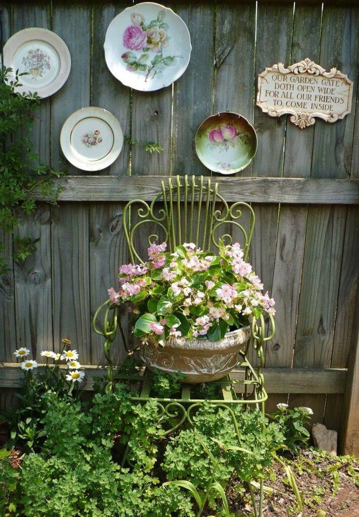 34 Best Vintage Garden Decor Ideas and Designs for 2020 on Garden Decor Ideas  id=79936