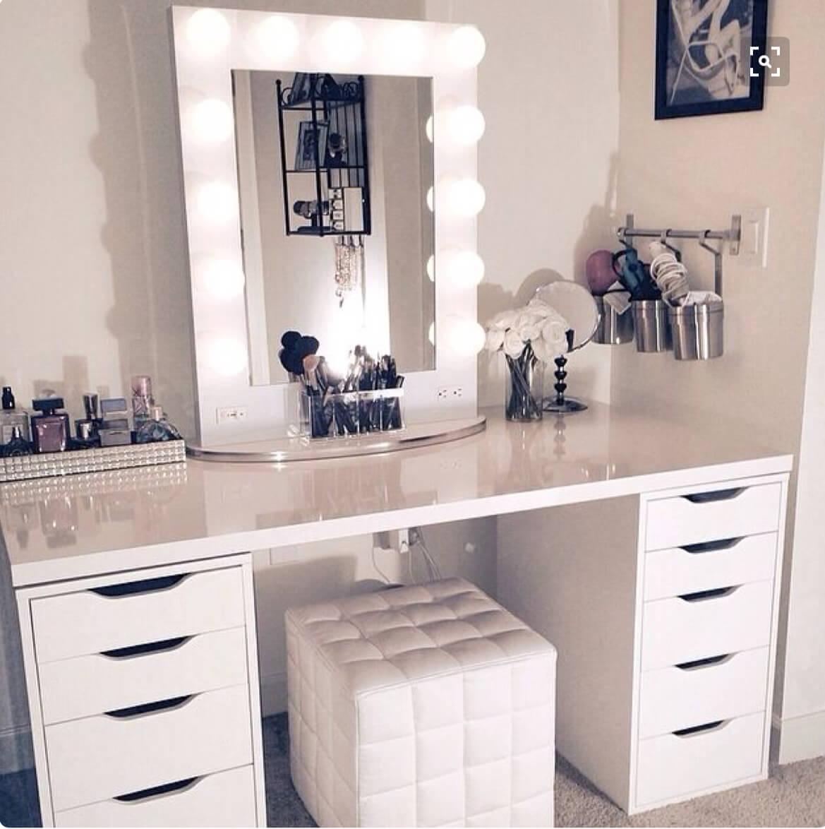 19 Best Makeup Vanity Ideas and Designs for 2020 on Makeup Bedroom  id=16946