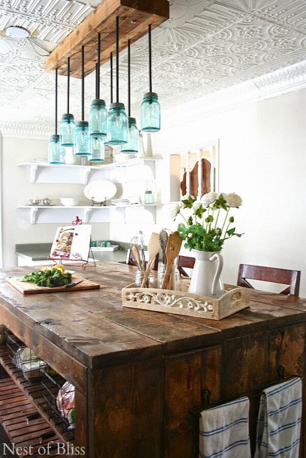37 Best Farmhouse Dining Room Design and Decor Ideas for 2020 on Farmhouse Curtains Ideas  id=45622