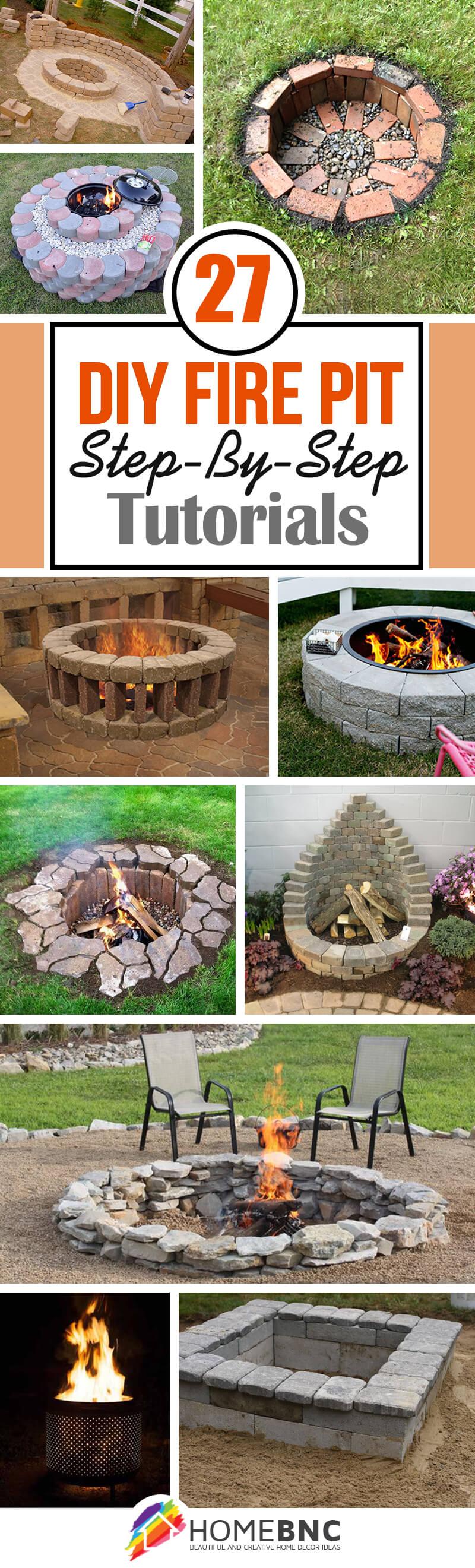 27 best diy firepit ideas and designs