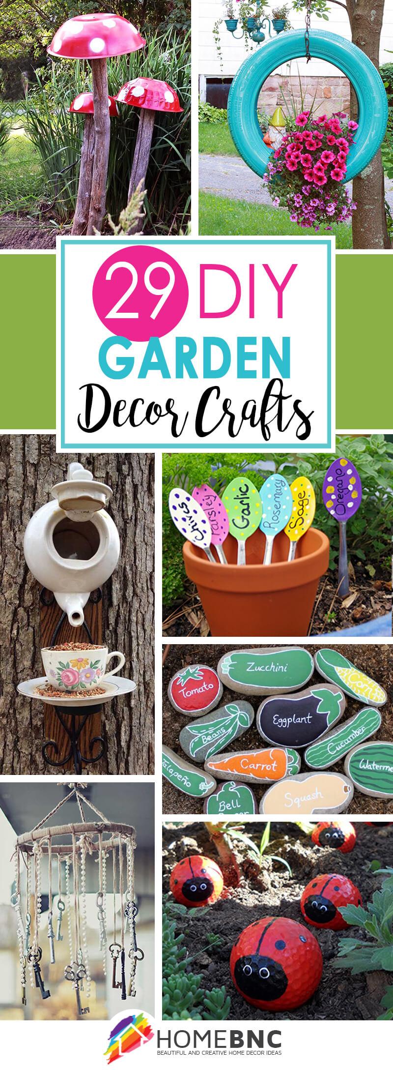 29 Best DIY Garden Crafts (Ideas and Designs) for 2020 on Handmade Diy Garden Decor  id=65518