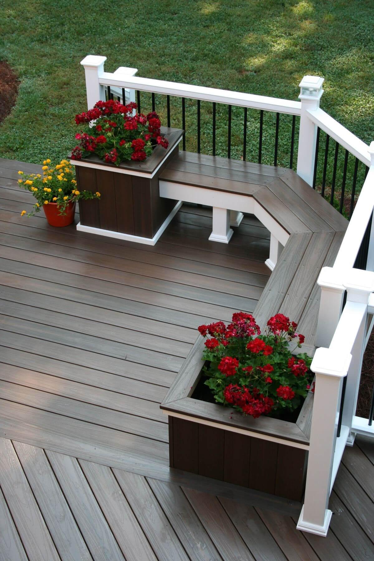 Deck Planter Ideas