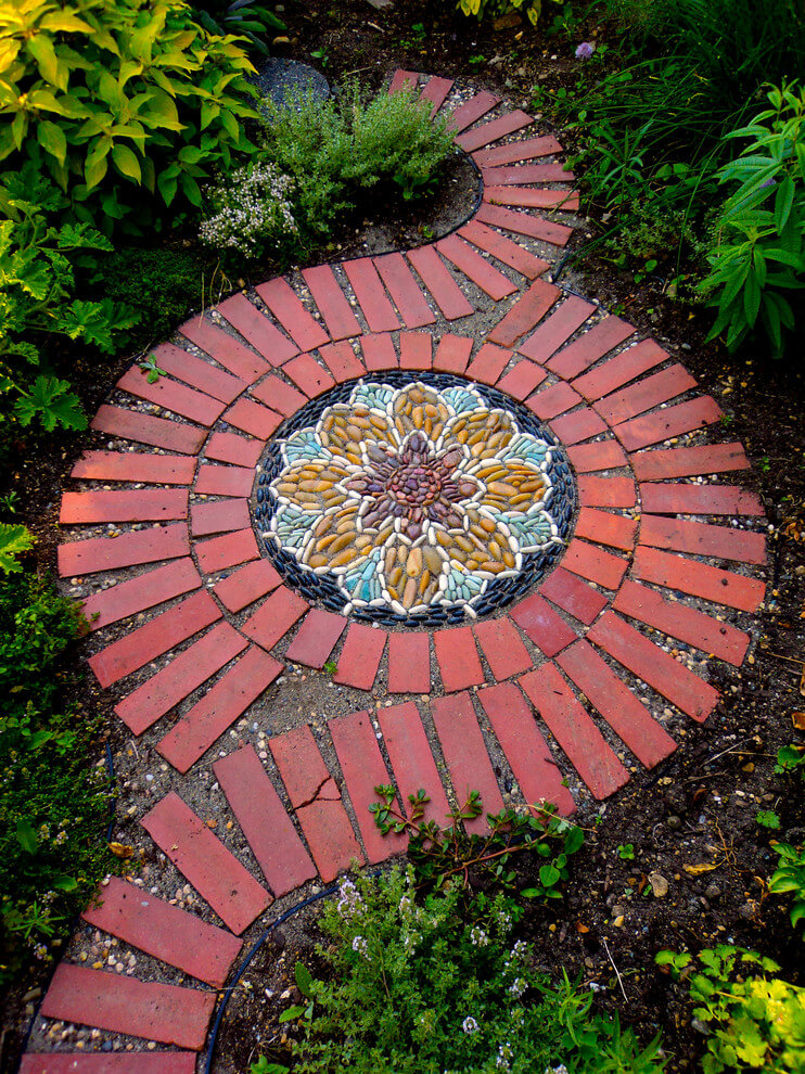 25 Best Garden Path and Walkway Ideas and Designs for 2020 on Patio And Path Ideas  id=45457