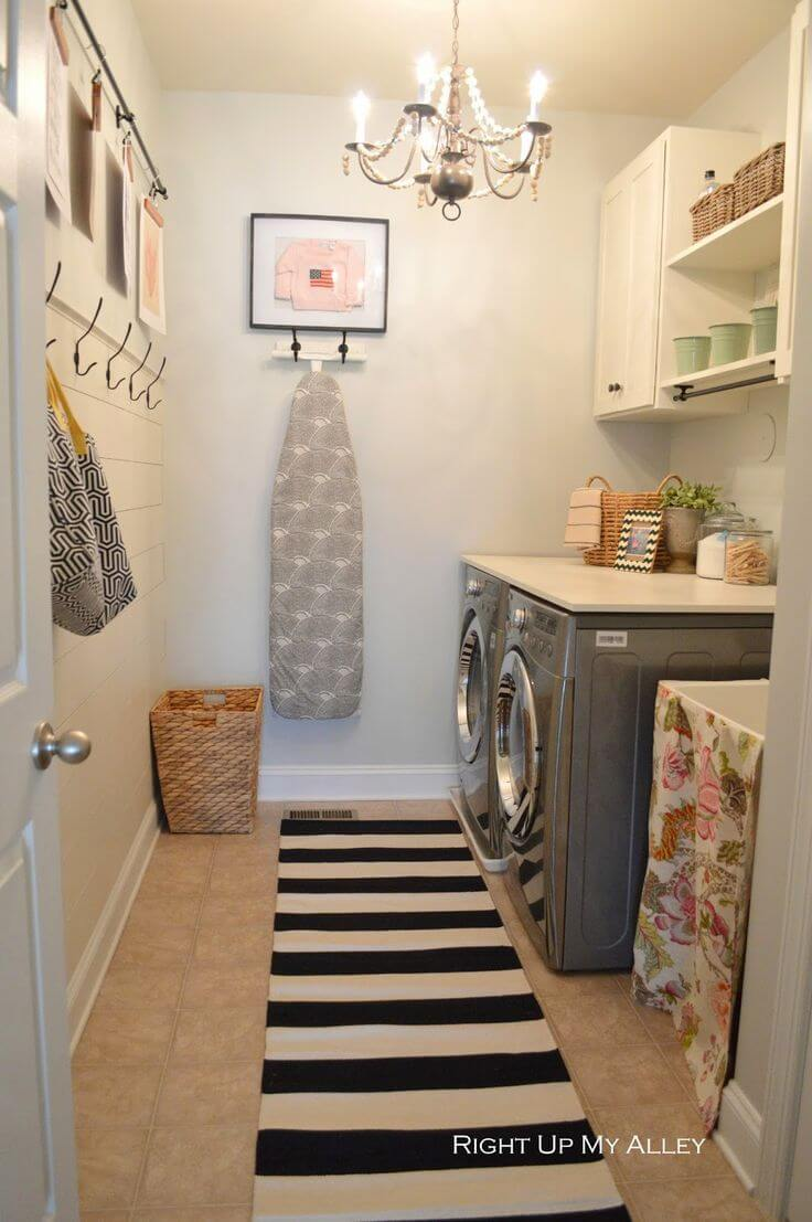25 Best Vintage Laundry Room Decor Ideas and Designs for 2020 on Laundry Room Decor  id=43788