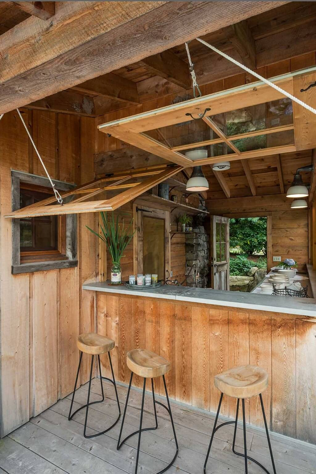 27 Best Outdoor Kitchen Ideas and Designs for 2020 on Patio With Bar Ideas id=25166