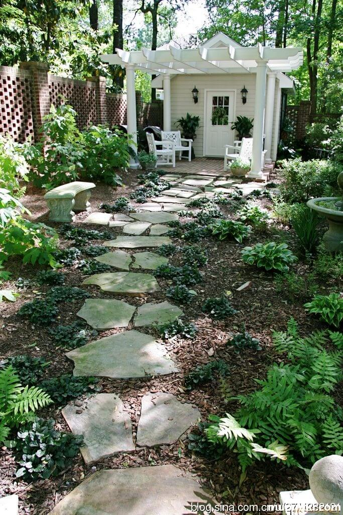 25 Best Garden Path and Walkway Ideas and Designs for 2020 on Backyard Walkway Ideas id=16005