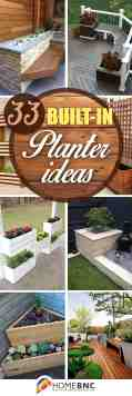 33 Best Built In Planter Ideas And Designs For 2020