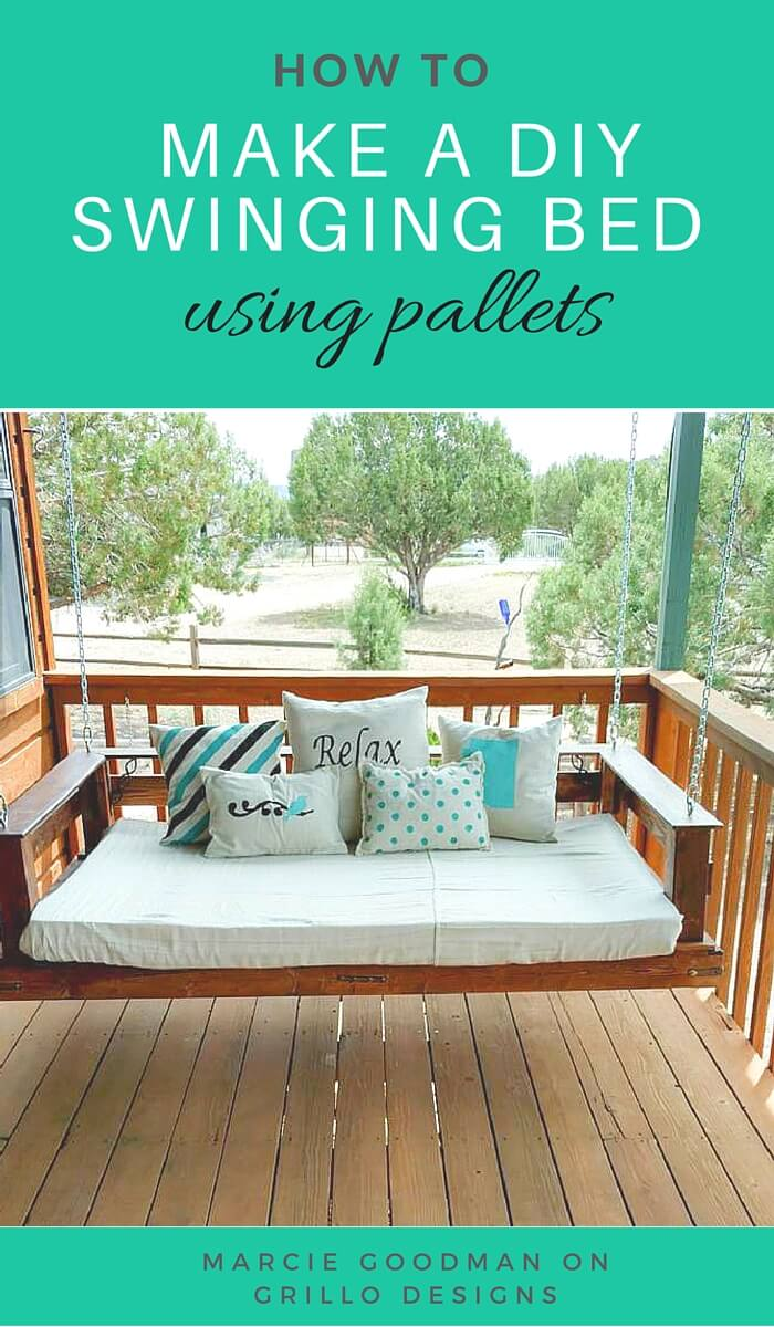 21 Best DIY Porch Swing Bed Ideas And Designs For 2018