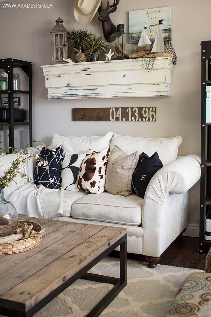 50+ Best Farmhouse Living Room Decor Ideas and Designs for ... on Farmhouse Style Living Room Curtains  id=74975