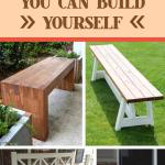 27 Best Diy Outdoor Bench Ideas And Designs For 2021