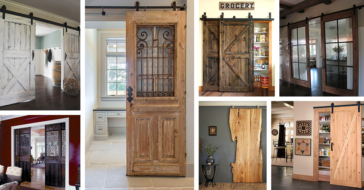 29 Best Sliding Barn Door Ideas And Designs For 2019