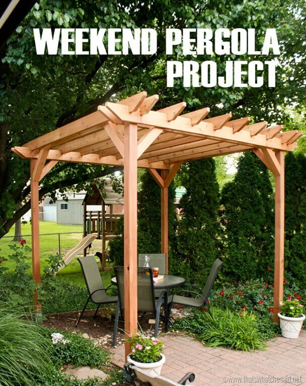 42 Best DIY Backyard Projects (Ideas and Designs) for 2020 on Diy Back Patio Ideas id=25567